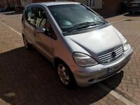 Mercedes A160 1.6 petrol leather electric window heated seats MOT till August