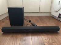 Sony 2.1 Channel HT-CT260 Virtual Surround Bar and Wireless Sub Woofer for TV