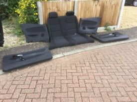 BMW Coupe E88 car seats. Collection from Dereham