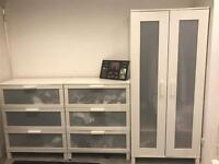 Ikea drawers wardrobe and bookcase