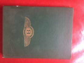 A Racing History of The Bentley by Daniel Berthon, 1st Edition published by Bodley Head