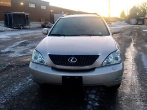 2007 lexus rx350 with safety etest