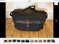 DUNHILL LEATHER HOLD-DALL LARGE WITH AUTHENTICITY LUGGAGE TAG & DUNHILL LOCK/KEYS