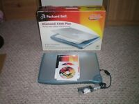 For Sale Packard Bell 48 Bit Colour USB Scanner £20 + pp