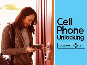 Phone Unlocking - Carrier Unlock - Unlock Code - Samsung - IPhone Unlocking - Unlocked Phones - LG - HTC - Moto - Google