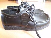Brand New Black Boys School Shoes - Size 1