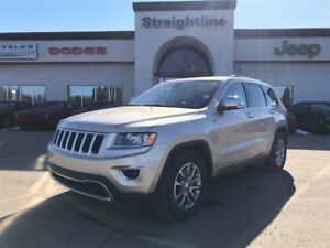 2014 Jeep Grand Cherokee LIMITED-AIR RIDE & HEATED EVERYTHING!