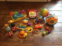 Baby toy bundle V-tec Little Tikes