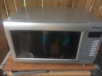 Panasonic combi microwave 27L 1000w