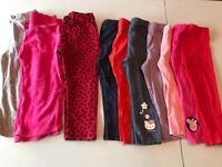 Girls clothes bundles 9 months to 4 years.
