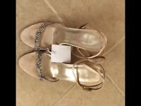 Faith size 4 sandals