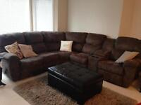 Mint condition 3 yr old sectional couch