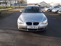 BMW 5 SERIES 3.0 530D AUTOMATIC SALOON (grey) 2004