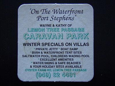 Lemon Tree Passage Caravan Park Oyster Farm Rd Port Stephens 049 824401 Coaster
