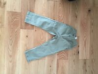 Next green trousers
