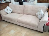 3 Seater Chaise Style Sofa