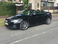 AUDI A3 Convertible 2.0 TDI S Line Black Edition
