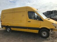 Mercedes Benz sprinter van parts available engine gearbox axel seats wheels exubset kit