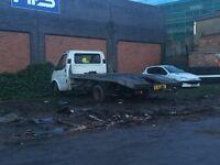 Ford Transit Recovery Trucks Closure Of Yard Banana Engine Trucks