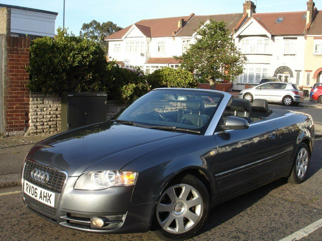 /// AUDI A4 CONVERTIBLE/CABRIOLET 2.0 T FSI AUTOMATIC /// NEWER SHAPE FACELIFT /// 2006 PLATE /