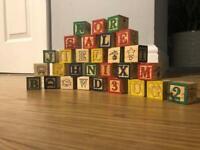 Set of building blocks