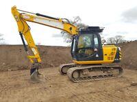 2012 JCB JS145lc excavator