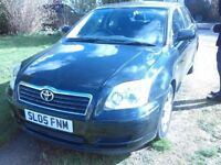 Toyota avensis 1.8 petrol 995000 miles and long MOT part history service