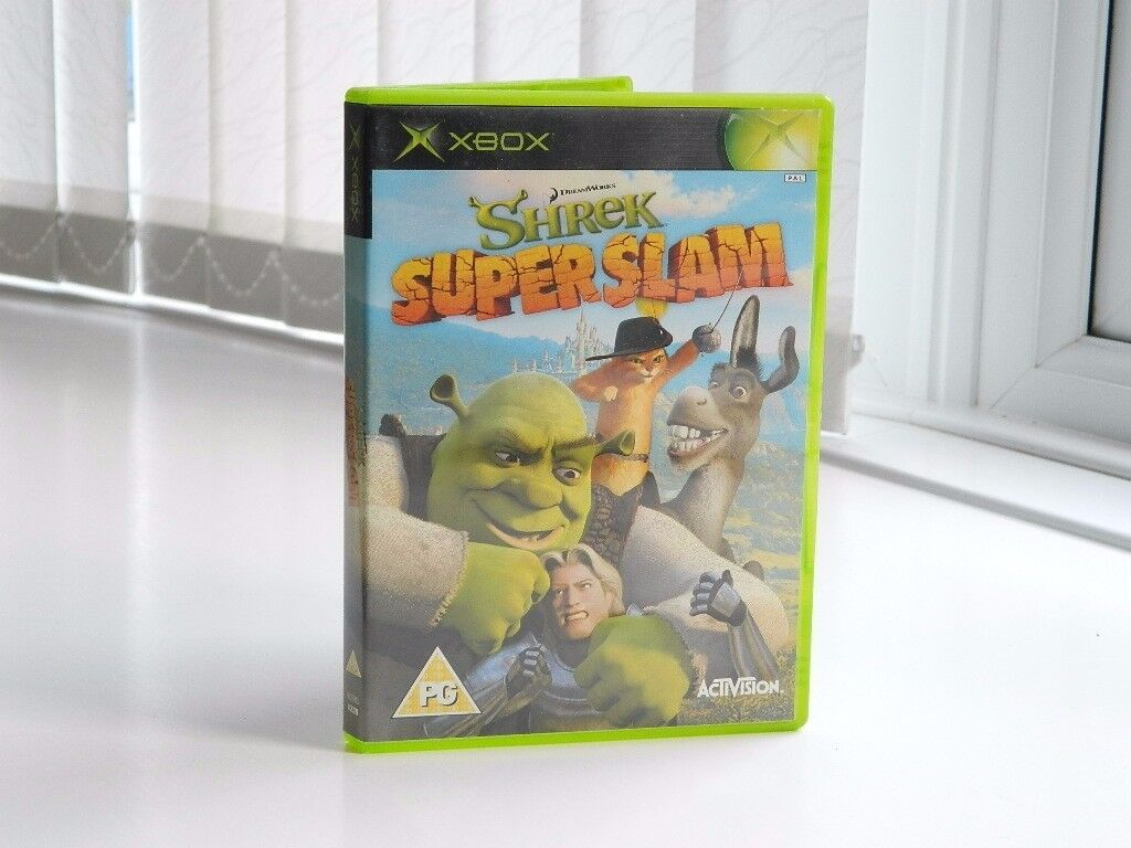 XBOX games for younger grown ups, including Harry Potter, Shrek and Zapper