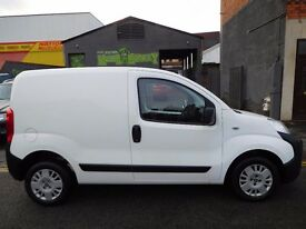 Fiat Fiorino 1.3 16v multijet 5 door panel van with low mileage MOT'd and NO VAT peugeot bipper (44)