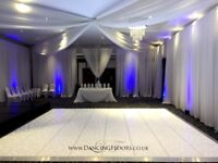 Dancing Floors - portable starlight LED dance floor hire