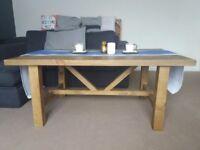 Rustic Solid Wood Coffee Table / EX DISPLAY