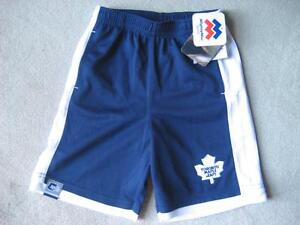 BRAND NEW - TORONTO MAPLE LEAFS ATHLETIC SHORTS - 6X