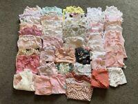 0-3 months baby girls clothes bundle. Next Morrison's nutmeg