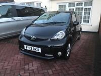 Toyota Aygo - Black / Automatic / Full service history Fire Edition