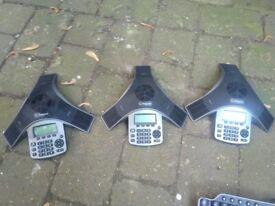 Three Polycom SoundStation IP5000 central London bargain