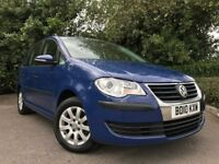2010 (10) Volkswagen Touran S 1.6 74,000 MILES 7 SEATER EXCELLENT CONDITION 2 OWNERS SERVICE HISTORY