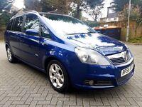 2007 Vauxhall Zafira Design 1.9 CDTi Fully Loaded Navi Leathers FSH 7 seater