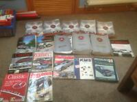 Mercedes gazette magazines job lot, collectible
