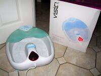 VISIQ Infrared Footbath Massage Foot Massager*** excellent condition