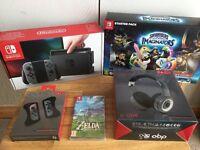 Nintendo Switch: Grey Joy-con Console – Best Budget Bundle!