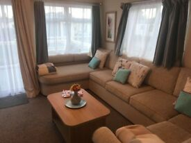 **Reduced Price Static Caravan incl site fees, 12 month season, Owner's only, 5* Park, Cornwall**