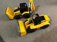 Cat loader/digger toys