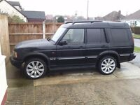 landrover discovery es td5a 7 seater part x/swap van