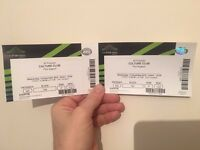 2 x tickets for Culture Club at Wembly 14th December