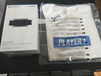 Unboxed PS5 HD Camera + player 1 t-shirt