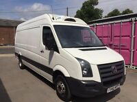 VW CRAFTER CR35 LWB FRIDGE VAN 60REG,TWIN WHEEL, ONE OWNER,FULL SERVICE HISTORY, FOR SALE
