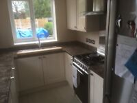 Kitchen cupbards for sale with oven and extractor fan