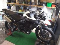 Triumph Tiger 800XC with ABS and Fog Lights