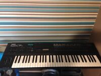 Yamaha dx7s . Digital programmable synthesizer, 1980s classic.