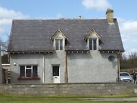 built in 1895 in the center of Ardgay 'Noranside' now for sale as project house